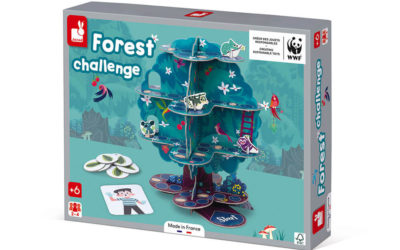 Our partnership with Janod and WWF®, the new range of games Made in France